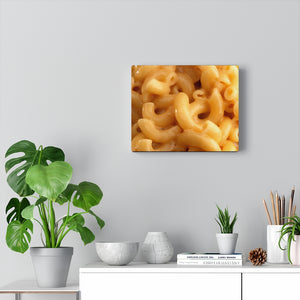 Macaroni & Cheese Art Canvas Gallery Wraps