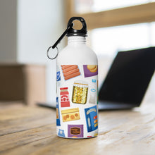 Load image into Gallery viewer, All the Food Stainless Steel Water Bottle