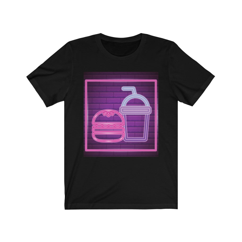 Neon Fast Food Tee [STAND OUT AND BE SEEN]