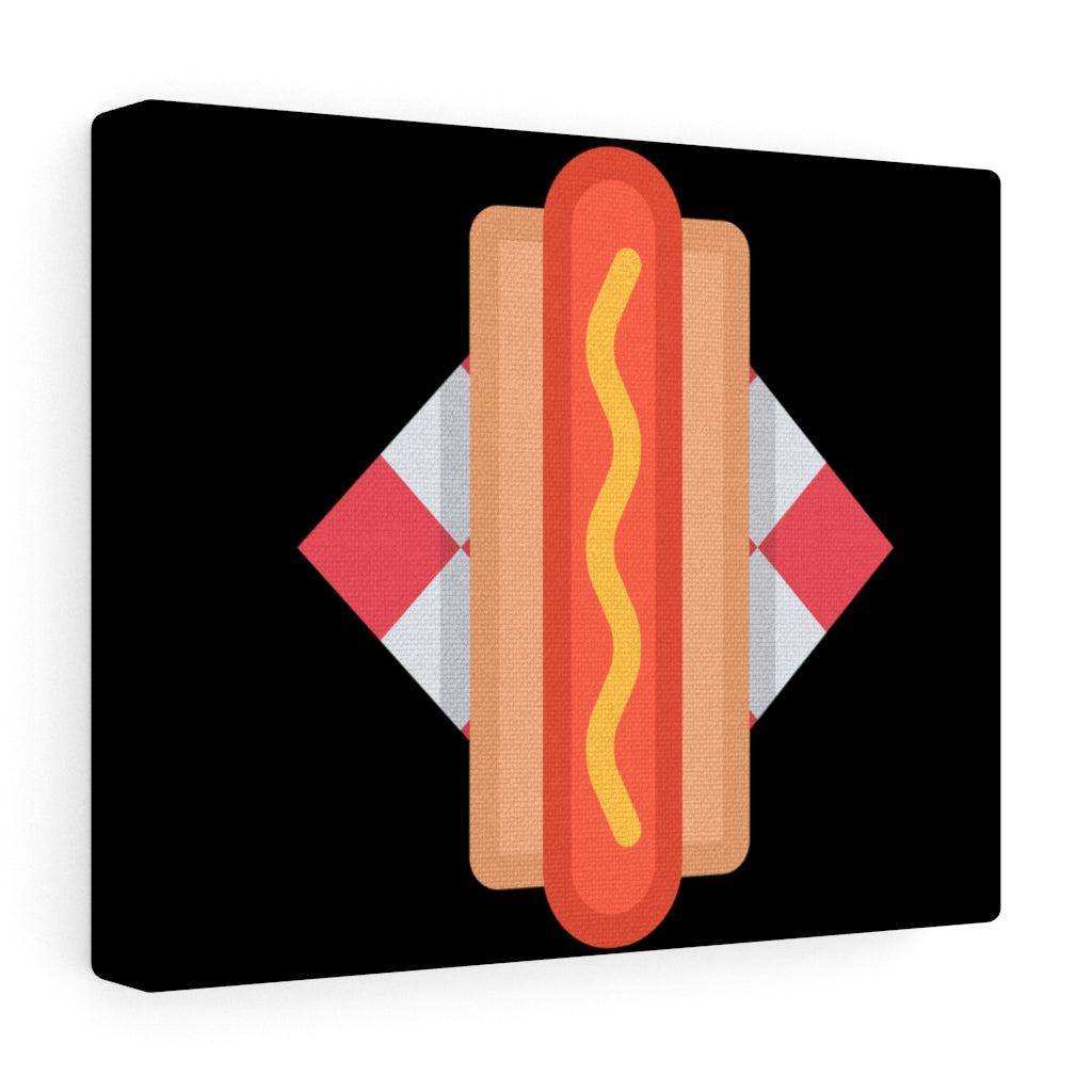 Hotdog Art Canvas Gallery Wraps