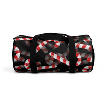 Load image into Gallery viewer, Candy Cane Love Duffel Bag [BE AN INFLUENCER]