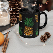 Load image into Gallery viewer, Black Pineapple Mug 11oz