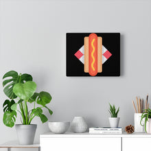 Load image into Gallery viewer, Hotdog Art Canvas Gallery Wraps