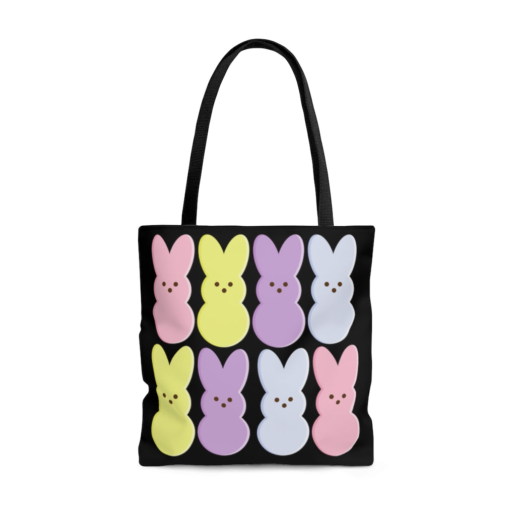 AOP Easter Marshmallow Bunny Tote Bag [BE AN INFLUENCER]