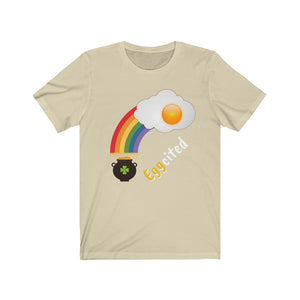 Rainbow Saint Patrick's Day Eggcited Egg Tee [BE A SWEETIE]