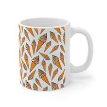 Load image into Gallery viewer, Ice Cream Cone Mug 11oz