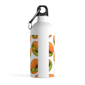 Cheeseburger Stainless Steel Water Bottle