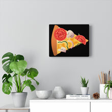 Load image into Gallery viewer, Pizza Canvas Gallery Wraps