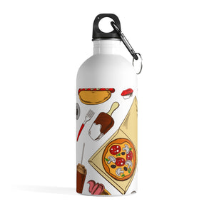 Amazing Food Stainless Steel Water Bottle