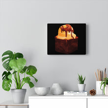 Load image into Gallery viewer, Brownie  Ala Mode Canvas Gallery Wraps