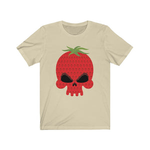 Skull Strawberry Tee [BE A WORK OF ART]
