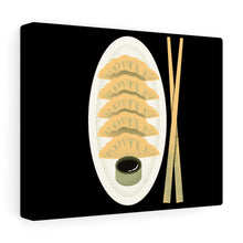 Load image into Gallery viewer, Dumpling Art Canvas Gallery Wraps