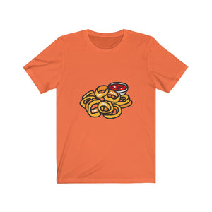 Onion Ring Party (Onion Rings) Unisex Jersey Short Sleeve Tee [Be Festive]