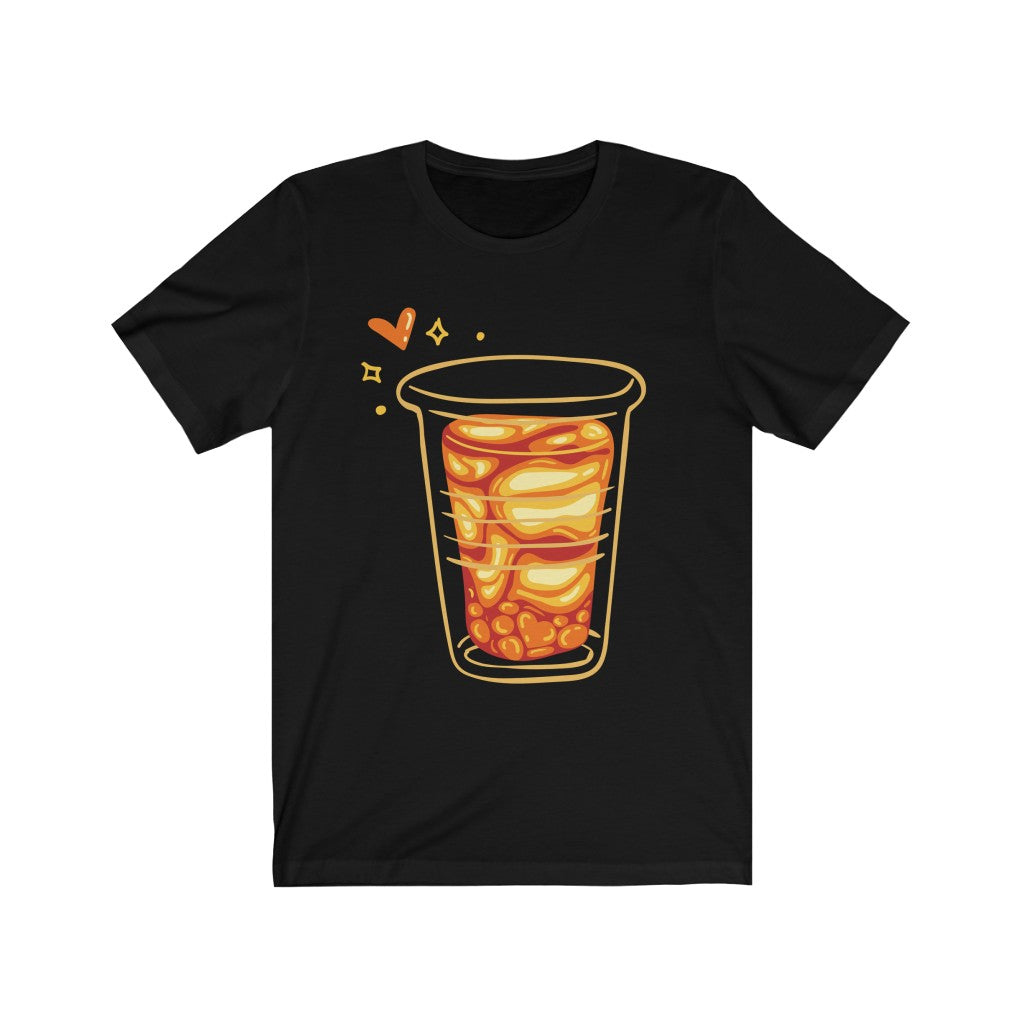 Iced Coffee Art Unisex Jersey Short Sleeve Tee
