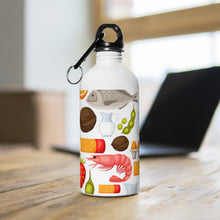Load image into Gallery viewer, Fabulous Food Stainless Steel Water Bottle