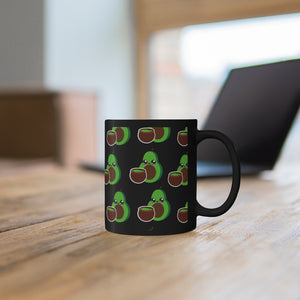 Black Avocado & Guac Mug 11oz