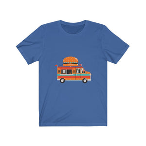 Burger Truck (Hamburger Time) Unisex Jersey Short Sleeve Tee
