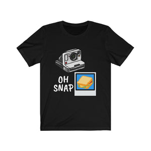 Oh Snap Camera Sandwich Tee [BE A WORK OF ART]