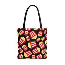 Load image into Gallery viewer, Eat More Popcorn AOP Tote Bag