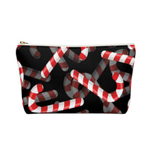 Load image into Gallery viewer, Candy Cane Love Accessory Pouch w T-bottom