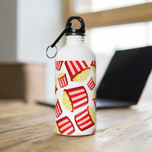 Load image into Gallery viewer, Eat More Popcorn Stainless Steel Water Bottle