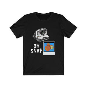 Oh Snap Camera Falafel Tee [BE A WORK OF ART]