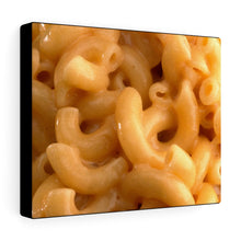 Load image into Gallery viewer, Macaroni & Cheese Art Canvas Gallery Wraps