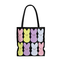 Load image into Gallery viewer, AOP Easter Marshmallow Bunny Tote Bag [BE AN INFLUENCER]