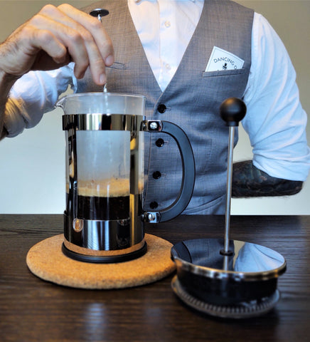 Dancing ox coffee roasters quickstep french press recipe