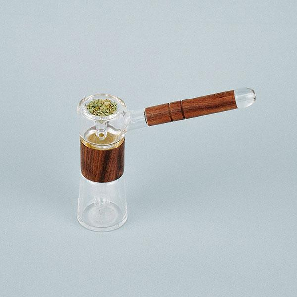MARLEY Walnut Bubbler Pipe