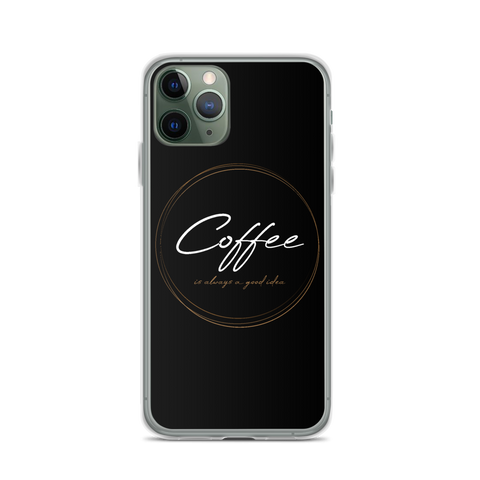 Coffee is always a good idea - iPhone Hülle