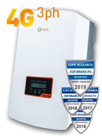 Solis 15kW 4G 3 Phase Dual MPPT - DC