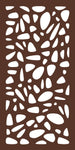 2'x 4' PEBBLES in Expresso (4-Pack)