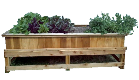 "4'X8' Garden Box Kit - with legs (30"" tall)"