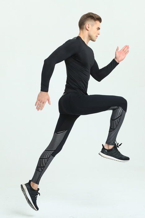Fashion Men Yoga Leggings