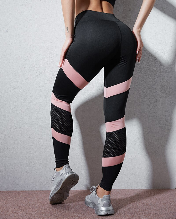Sexy Yoga Patchwork Pants