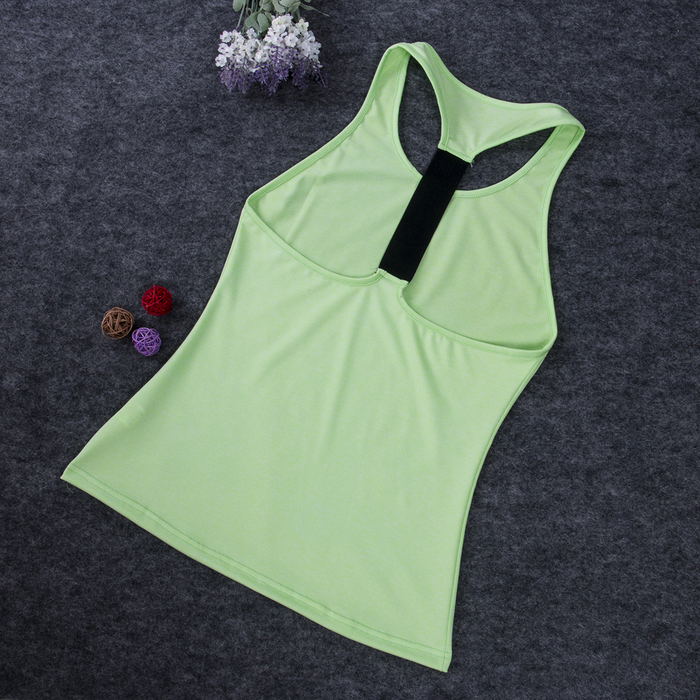 Solid Color Backless Tank Tops