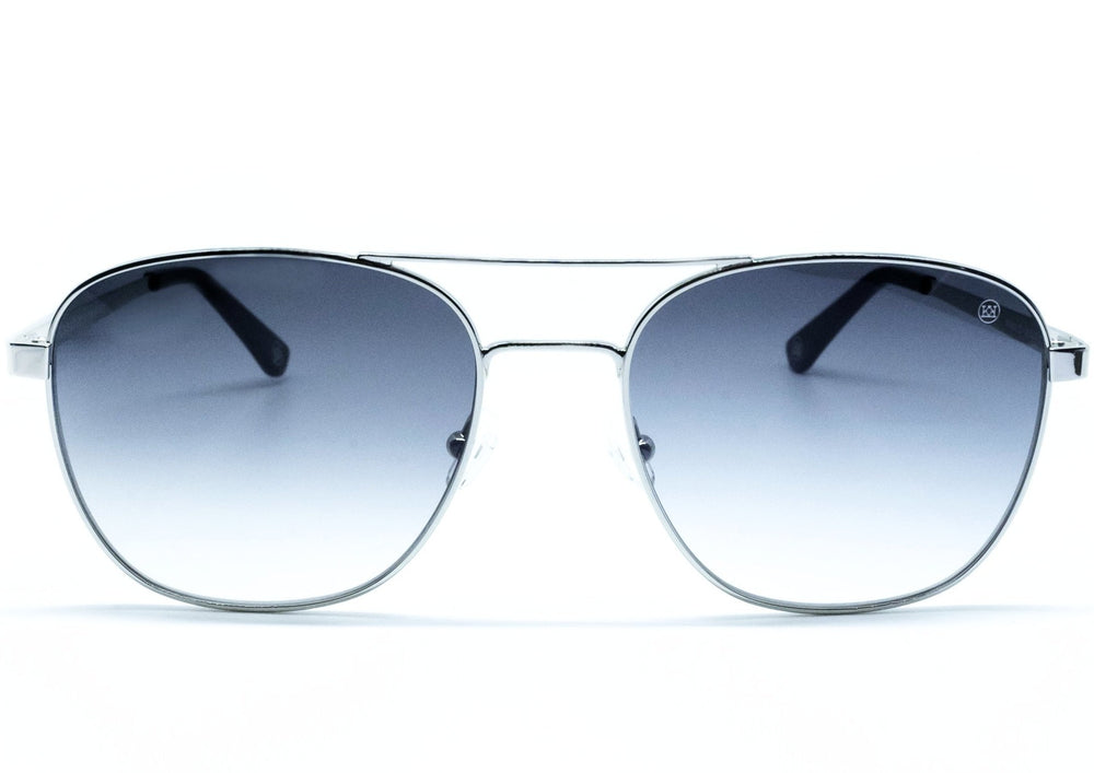 Nelson Sunglasses in Silver