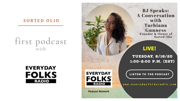 Sorted Olio's First Podcast