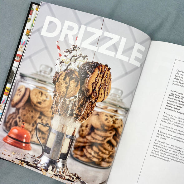 Craft Burgers & Crazy Shakes From Black Tap Cookbook  - Cookies - Milkshakes - Ice Cream