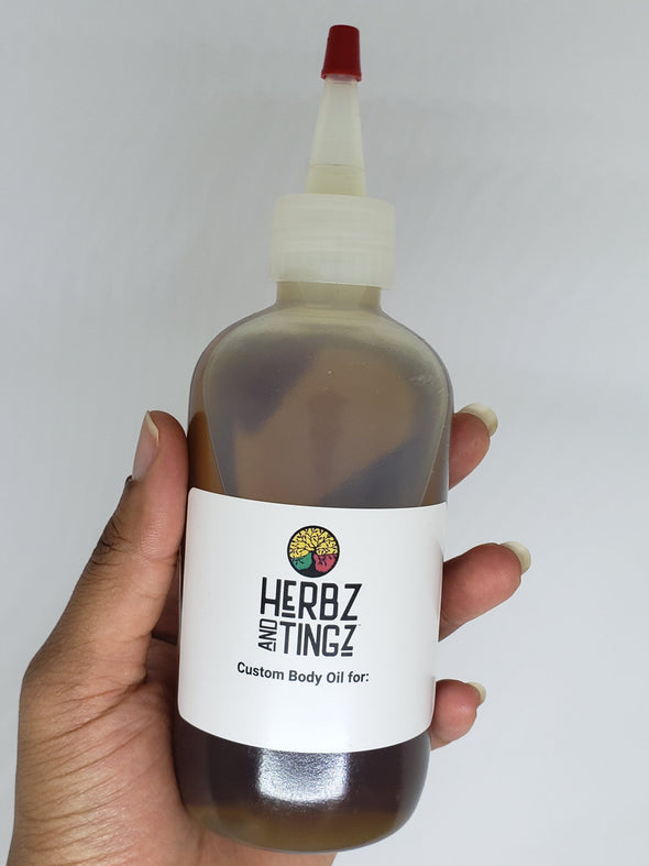 Herbz And Tingz Custom Body Oil