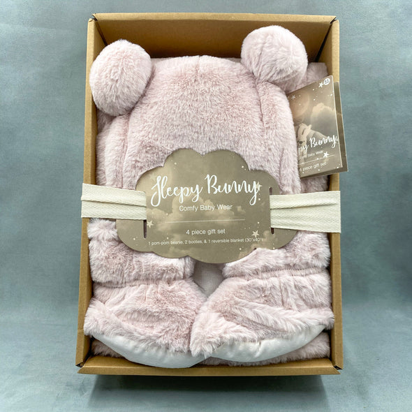 Sleepy Bunny 4 Piece Set