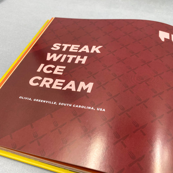 Pickles And Ice Cream A Bizarre Pregnancy Cravings Cookbook - Steak with ice cream