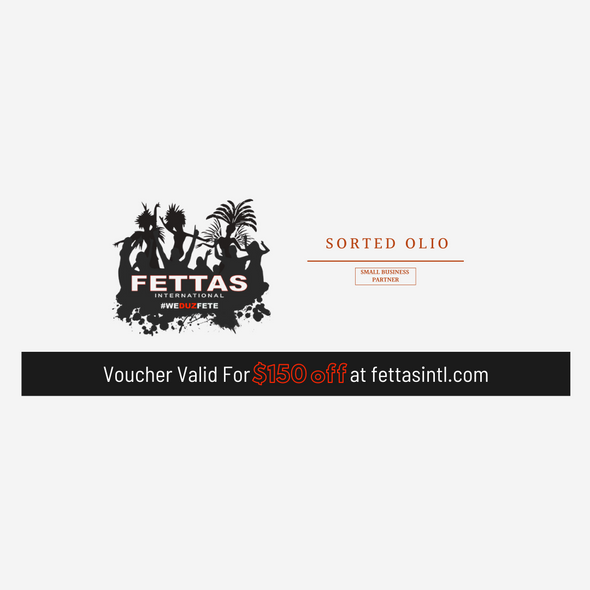 Fettas International $150 Voucher