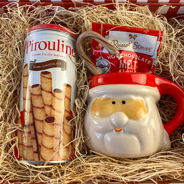 Kris Kringle Milk And Cookies