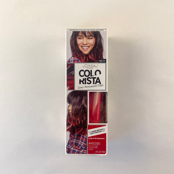 L'Oreal Colorista Semi-Permanent Color #Red30