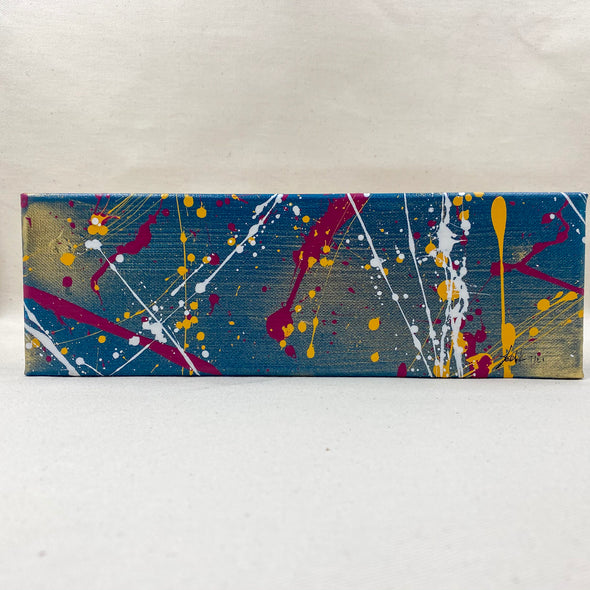 Local Artisan - splatter painting - handcrafted - handmade