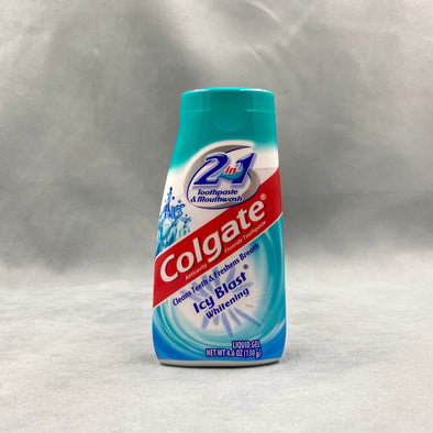 Colgate Icy Blast Whitening Toothpaste  - Liquid Gel - 4.6 oz - Toothpaste and mouthwash