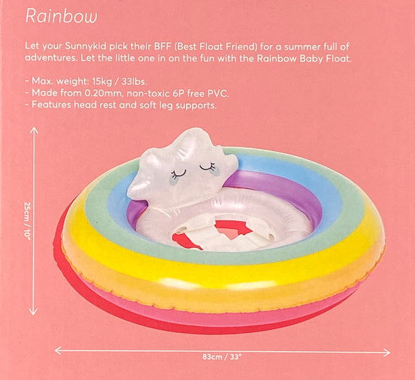 Sunnykids Rainbow Baby Float