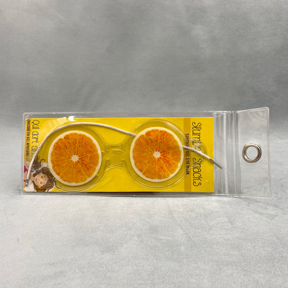 Summer Snacks Eye Mask - Oranges